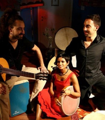 Musiche e danze dal Mediterraneo all'Oriente <br />con Mi Linda Dama